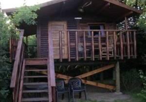 Hut 3: Paalhut oostzicht